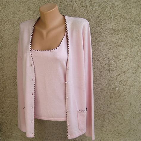 Jacket Sweater Mtma Pink vintage pink jacket sweater set top jacket