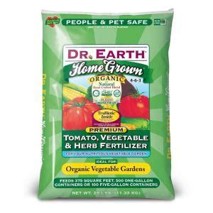 diy tomato fertilizer dr earth 25 lb home grown tomato vegetable herb