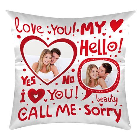 cuscino per san valentino cuscini regali san valentino