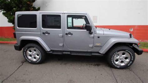 2014 silver jeep wrangler el147100 2014 jeep wrangler unlimited