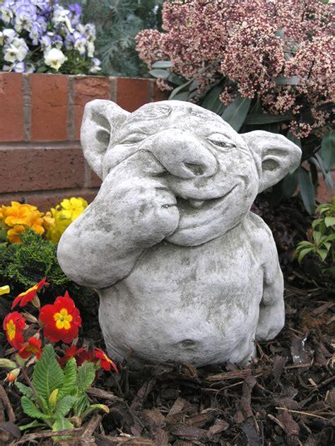 Nose Picker Gargoyle Stone Ornament Gg12 163 33 24 Garden4less Uk Shop » Home Design 2017