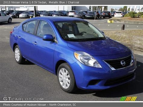 nissan versa light blue nissan versa sedan blue