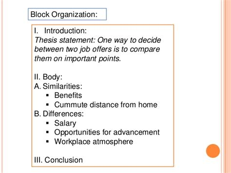 How To Organize A Compare And Contrast Essay by Contrast Essay