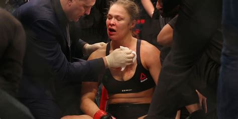 ronda rousey s first interview after holly holm fight askmen