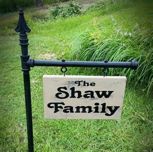 yard signs personalized yard signs garden signs family by