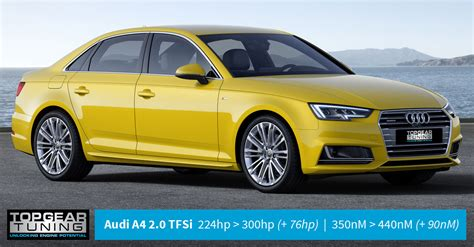 Audi 2 0 Tfsi Remap by 76hp For Audi A4 2 0 Tfsi With Topgear Tuning Remap