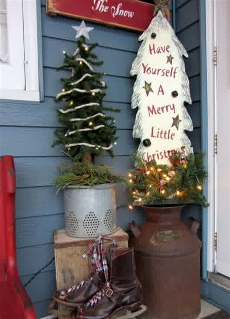 used christmas decorations outdoor vintage style for outdoor decorations homesfeed