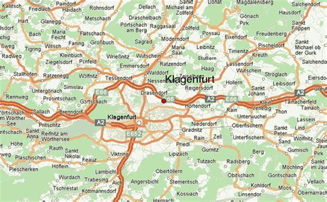 klagenfurt map klagenfurt location guide