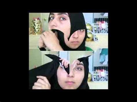 video tutorial unik video tutorial hijab unik tanpa jarum ala hijabers texas