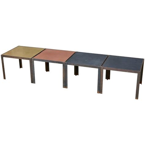 Damier Modular Coffee Table Or Set Of Side Tables By Modular Coffee Table