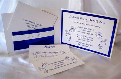 designs  ginny custom royal blue metallic pocketfold