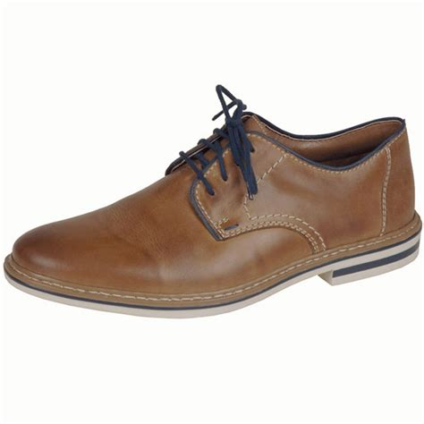 up shoes rieker b1422 25 s smart casual lace up shoe in