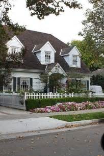 cottage style white picket fence let me live in a house