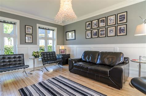 panel design living room eclectic with white trim white
