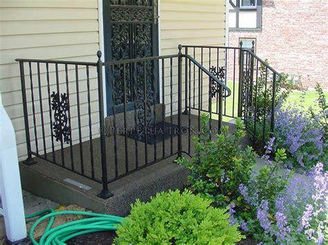 Iron Porch Railing Perpetua Iron Classic Railing