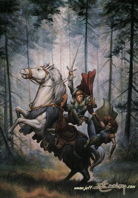 Images Spear Horses Jeff Easley by Dragonlance Heroes Galen Beknighted By Jeff Easley
