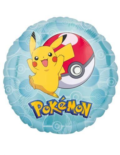 Balon Pokemonball pok 233 mon ballon blau bunt 43cm g 252 nstige faschings