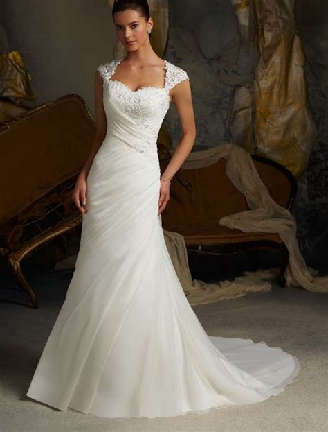 Wedding Dresses With Cap Sleeves by Collection Of Mermaid Wedding Dresses With Cap