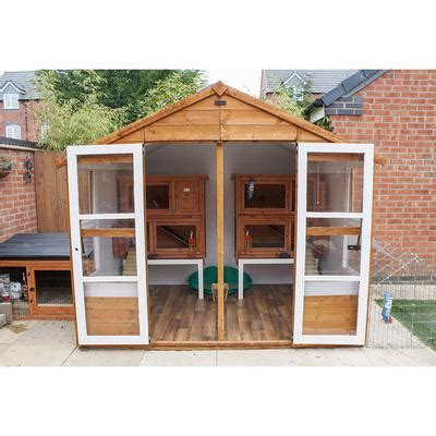 Rabbit Sheds by Daytime Bunny Shed And Runs