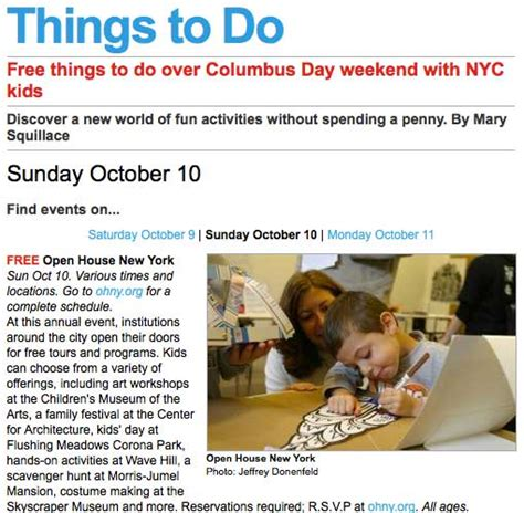 Saturday Mba Programs In Nyc by Photo From Ohny Weekend Published In Time Out New York