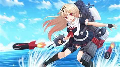 wallpaper anime kantai collection kantai collection full hd wallpaper and background