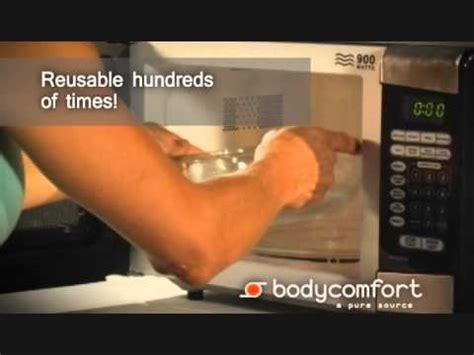 body comfort innovative therapy body comfort reusable heat and cold packs youtube