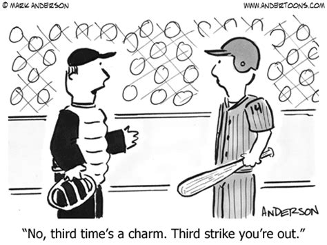 Will 3rd Time Be Charm For And Rehab by Baseball 2202 Andertoons Baseball