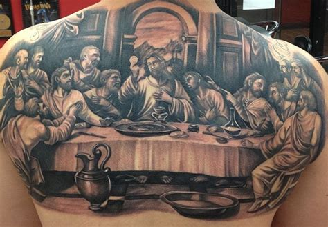 last supper tattoo last supper jpg 648 215 450 chilis