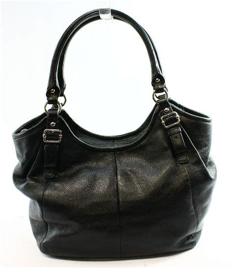 Abigail Black Handbag coach new black leather abigail medium hobo
