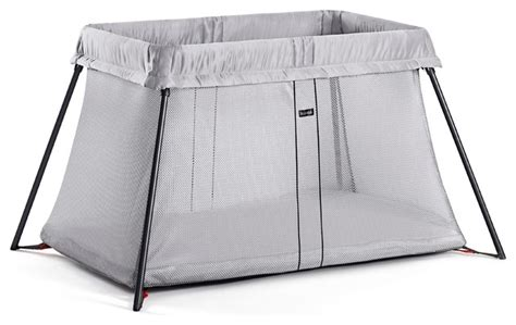 Babybjorn Travel Crib Light by Babybjorn Travel Crib Light Portable Travel Bed Silver