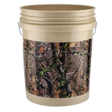 Holiday Home Decorating Services by 5 Gal Realtree Apg Bucket 3 Pack 05glapg 3 The Home Depot
