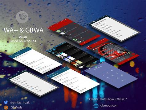 dual full version mod apk gbwhatsapp v3 80 best whatsapp mod apk dual antiban