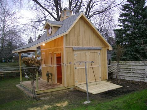 Cottage Shed Plans by Country Cottage Shed By Russinmichigan Lumberjocks
