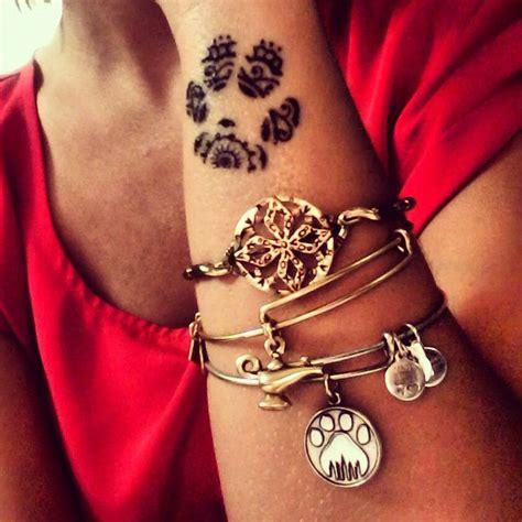 henna tattoo printer paw print henna design bona fide www tatbro com