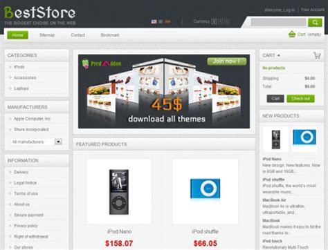 free prestashop themes mobile store download free prestashop store themes