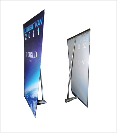 Sign Mart Quot L Quot Tabletop Banner Stand Table Top Banners