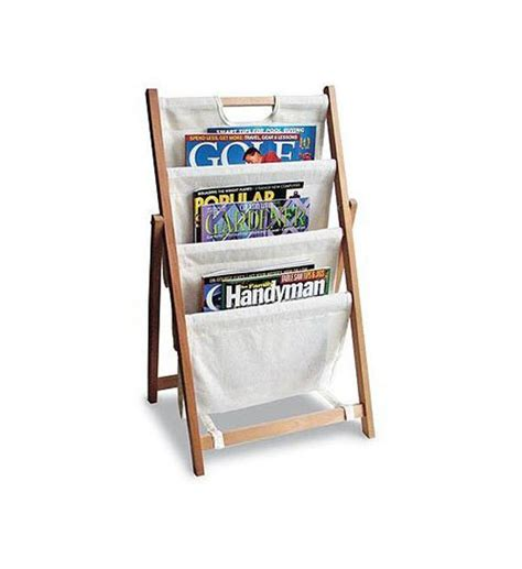 Magazine Floor Rack by Folding Canvas Magazine Stand In Floor Magazine Racks