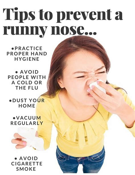 has runny nose what causes a runny nose