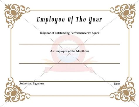 7 best employee certificate images on pinterest