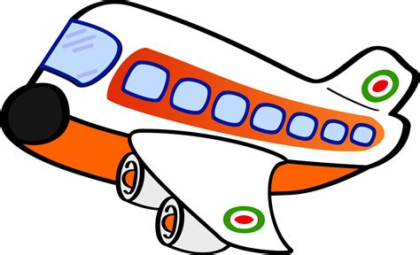 clipart aereo clipart airplane one
