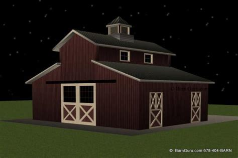 monitor style barn plans horse stalls design images