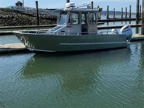 Sleeper Boats by Recreational Sleeper Cabin Aluminum Boats Pacific Boats