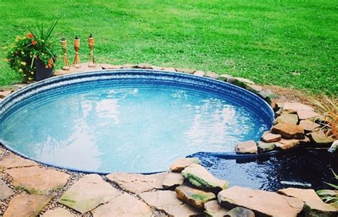 here s the newest easy and affordable way to put a pool in