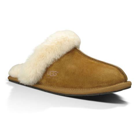 ugg slippers chestnut ugg australia slippers scuffette ii chestnut fredericks