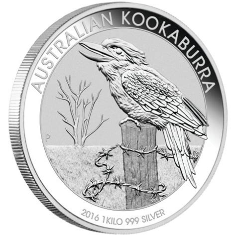 1 Kilo Australian Silver Kookaburra Coin - buy 2016 1 kilo proof australian silver kookaburra coins l