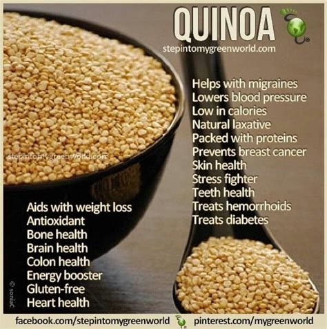 quinoa sweating beauty