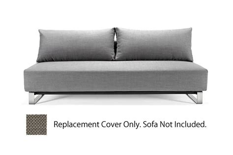 innovation sofa cover reloader detachable cover heavy natch grey by innovation