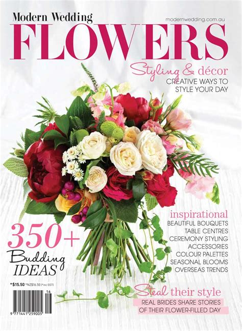 flower wedding magazine new modern wedding flowers magazine on sale modern wedding