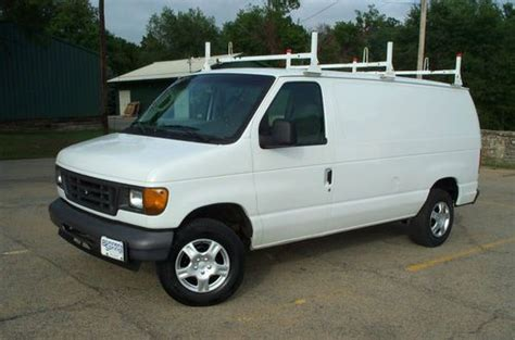 automobile air conditioning service 2006 ford e series transmission control sell used 2006 ford econoline e250 3 4 ton 1 owner cargo work delivery van fleet serviced in