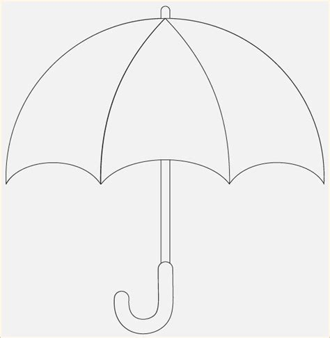 free printable umbrella template umbrella template dringrames org coloring pages